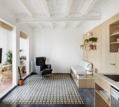 Proyecto decoración e interiorismo en Zaragoza - apartamento tf